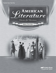 American Literature Quiz and Test Key