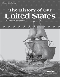 History of Our United States Quiz and Test Key