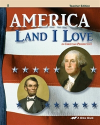 America: Land I Love Teacher Edition