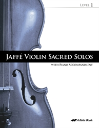 Jaffe Violin Sacred Solos Level 1 (Includes CD)