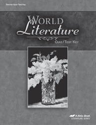 World Literature Quiz and Test Key