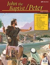 John the Baptist/Peter Flash-a-Card