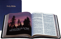 Student Bible King James Version (Blue)