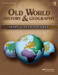 Old World History and Geography Maps and Activities Key