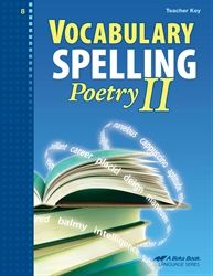 Vocabulary, Spelling, Poetry II Teacher Key / CD