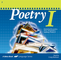 Poetry I CD (Replacement)