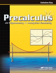 Precalculus with Trig and Analytical Geometry Solution Key