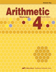Arithmetic 4 Answer Key