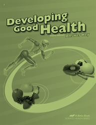 Developing Good Health Answer Key