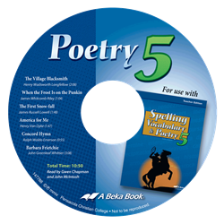 Poetry 5 CD (Replacement)