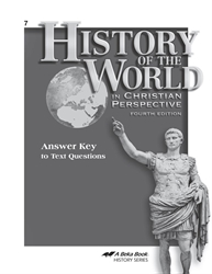History of the World Answer Key