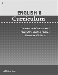 English 8 Curriculum—Revised