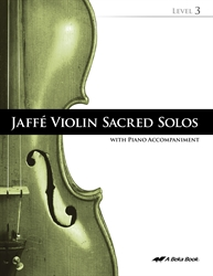Jaffe Violin Sacred Solos Level 3 (Includes CD)