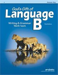 Abeka | Product Information | God's Gift of Language B ...