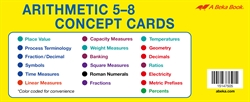 Arithmetic 5-8 Concept Cards