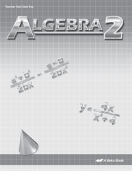 Algebra 2 Quiz and Test Key—New Edition