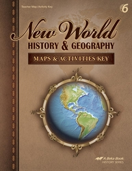 New World History and Geography Maps and Activities Key