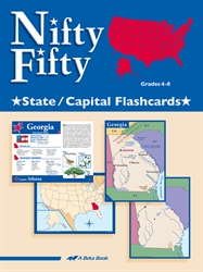 Nifty Fifty State and Capital Flashcards