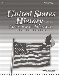 United States History: Heritage of Freedom Answer Key