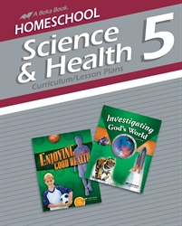 Homeschool Science and Health 5 Curriculum Lesson Plans
