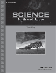 Science: Earth and Space Test Key
