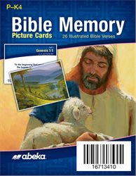 Miniature Bible Memory Picture Cards