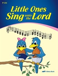 Little Ones Sing unto the Lord Book