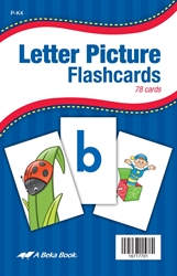 Abeka | Product Information | Letter Picture Flashcards