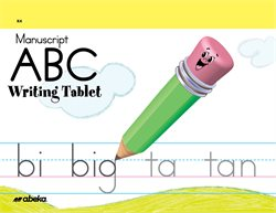 ABC Writing Tablet Manuscript
