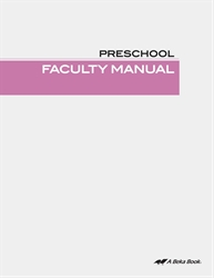 Preschool Faculty Manual