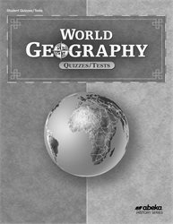 World Geography Quiz and Test Book