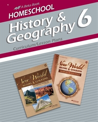 Homeschool History and Geography 6 Curriculum