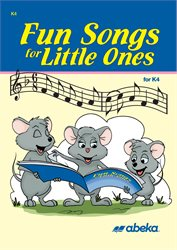 Fun Songs for Little Ones K4 CD