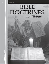 Bible Doctrines Quiz and Test Key