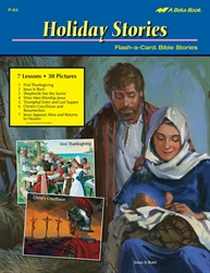 Holiday Flash-a-Card Bible Stories