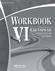 Workbook VI Quiz and Test Key