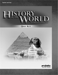 History of the World Quiz Key
