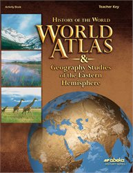 World Atlas and Geography Studies of the Eastern Hemisphere Key