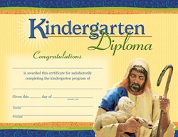 K Graduation Diploma Style B Sheep (Package of 25)
