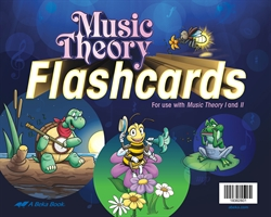 Music Theory Flashcards (for use with I and II)
