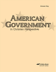 American Government Answer Key