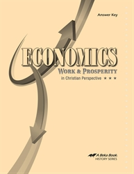 Economics Answer Key