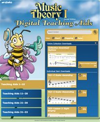 Music Theory I Digital Teaching Aids
