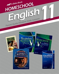 Homeschool English 11 Parent Guide and Student Daily Lessons