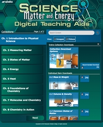 Science: Matter and Energy Digital Teaching Aids