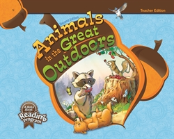 Animals in the Great Outdoors Teacher Edition