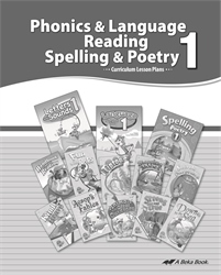 Phonics/Language, Reading, Spelling, Poetry 1 Curriculum
