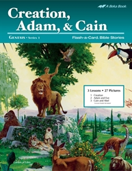 Creation, Adam, and Cain Flash-a-Card Bible Stories