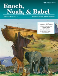 Enoch, Noah, and Babel Flash-a-Card Bible Stories
