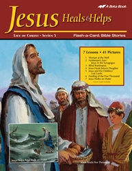 Jesus Heals and Helps Flash-a-Card Bible Stories